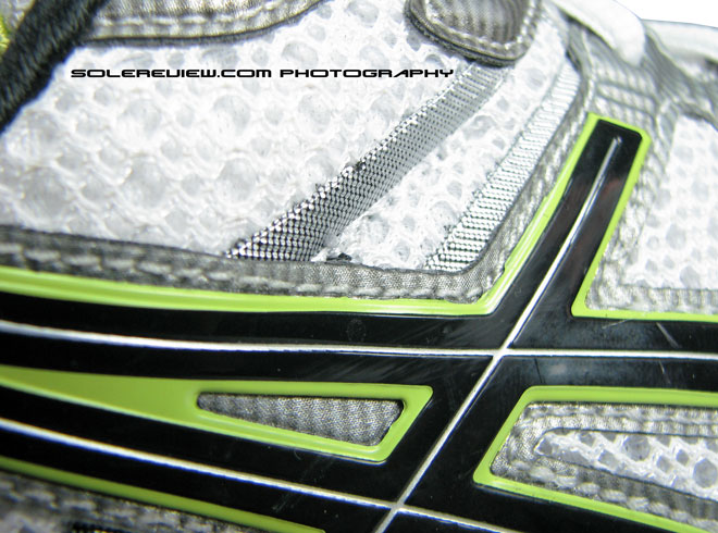Asics Kayano 17 side molded panels