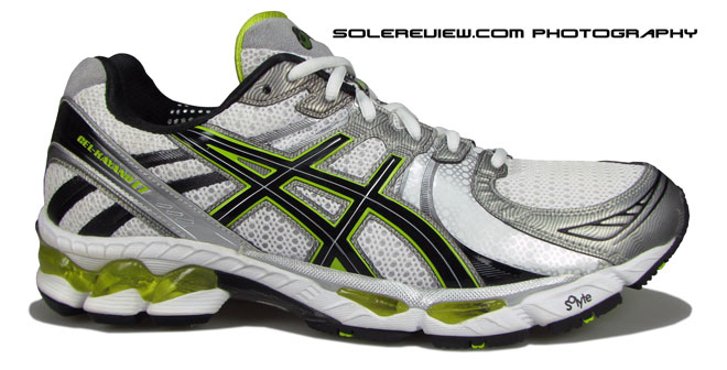 Asics Kayano 17 side view