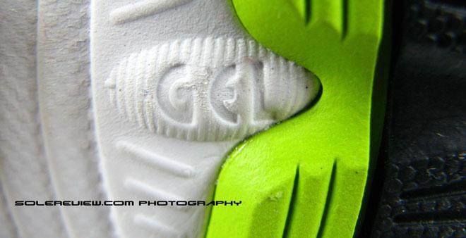 Asics Kayano 17 Gel logo callout