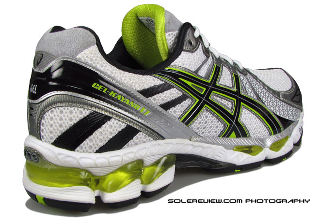 Asics Kayano 17 rear view