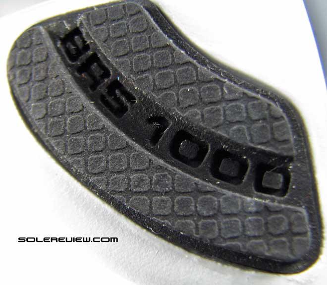 Nike Free Run 3 BRS 1000 outsole