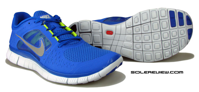 Nike Free run 3 outsole