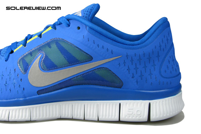 $32.00 Get Nike Free 5.0 v2 grey color shoes blue colour SKU5936