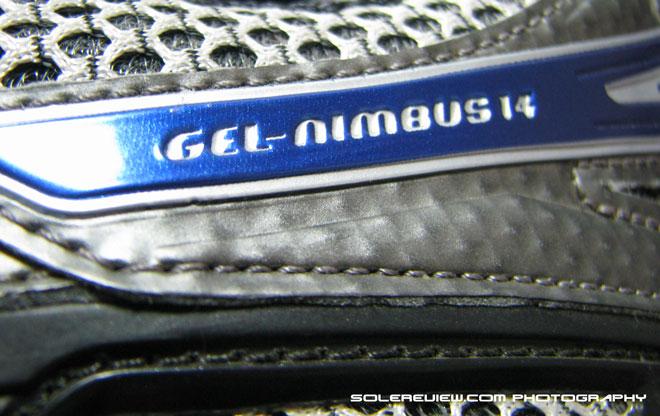 Asics Nimbus 14 heel