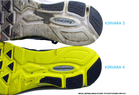 Saucony_Kinvara_4_vs_3_sole