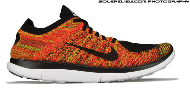 8d85fabab51 Nike Free 4 Flyknit. The 4.0 upper lacks extreme compression of the 2013 Free  Flyknit ...