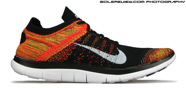 nike free 4.0 flyknit runners world pace