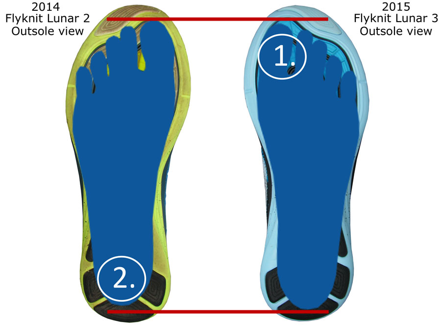 Shoes Insert To Reinforced Toe Box