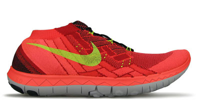 Mens Nike Free 3.0 v4 Running Shoe at Road Runner Sports