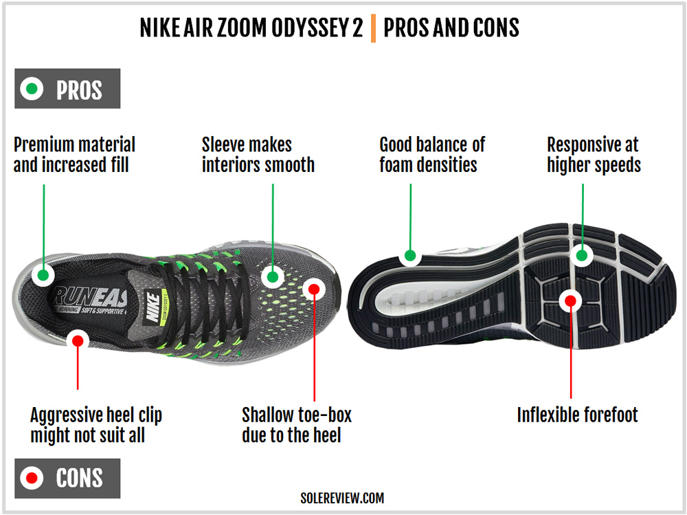 nike_zoom_odyssey_2_pros_and_cons