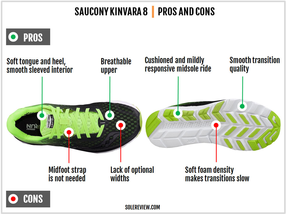 Saucony_Kinvara_8_pros_and_cons