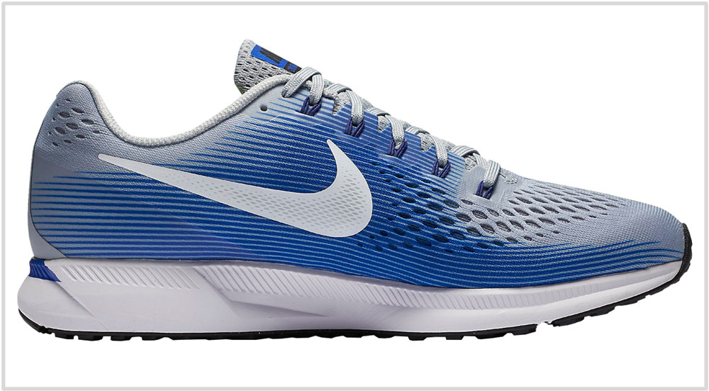 97e9df646dc DESIGN AND MATERIALS. Nike Pegasus 34 upper. While the Pegasus 34 s ...