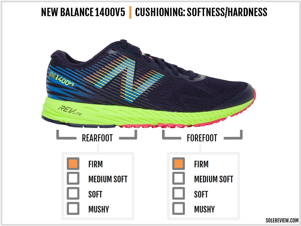 difference between new balance 1400 and 1500