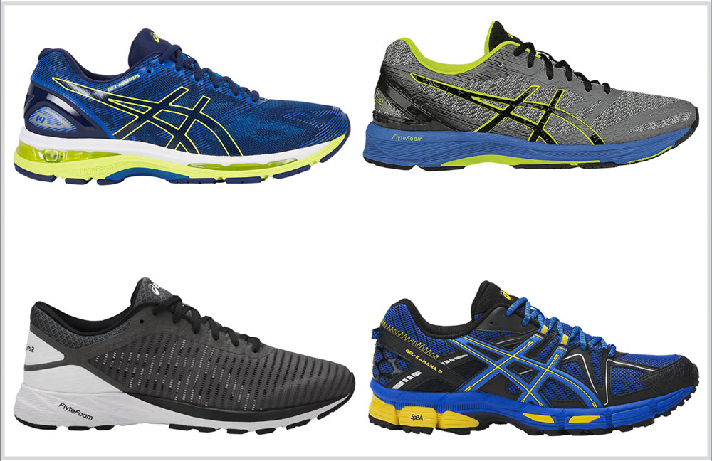 asics running shoes 2018