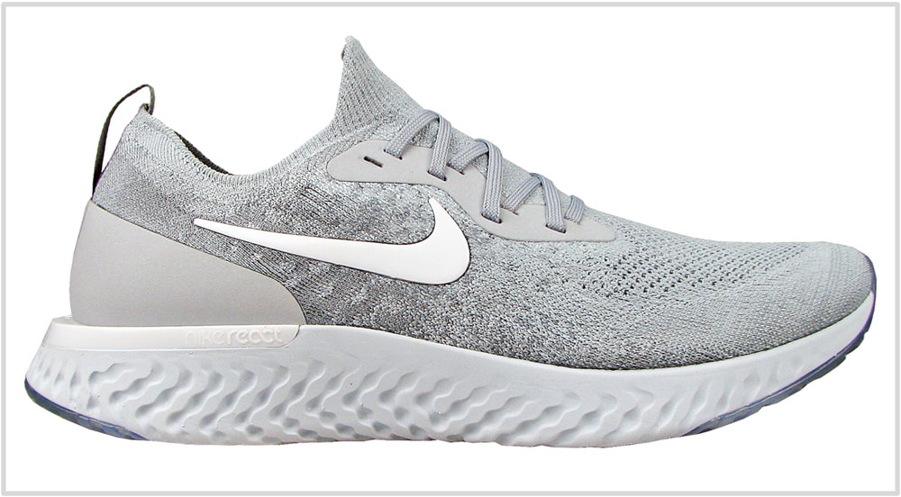 hot sale online d1c9f 21ce5 Nike Epic React Flyknit upper · Nike Epic React Flyknit insole ·  Nike Epic React Flyknit lasting. The midsole design of ...