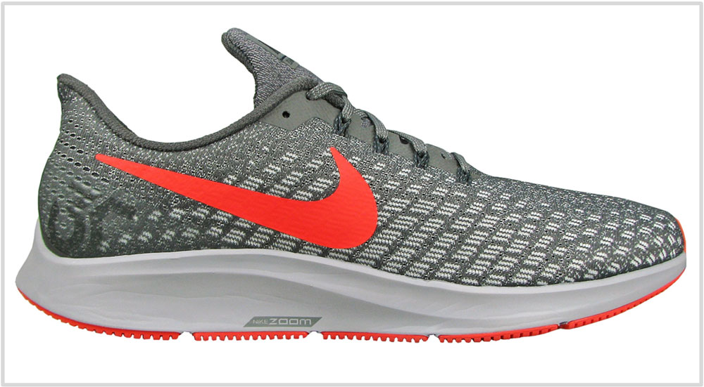1) Neutral cushioning: Nike Air Zoom Pegasus 35