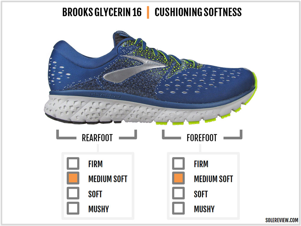 a937f8092fb Brooks Glycerin 16 cushioning. Brooks Glycerin 16 insole.  Brooks Glycerin 16 insole DNA. Brooks Glycerin 16 insole fabric.  Brooks Glycerin 16 lasting