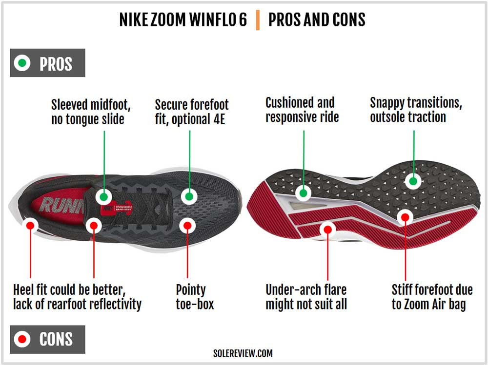 Nike_Winflo_6_pros_and_Cons