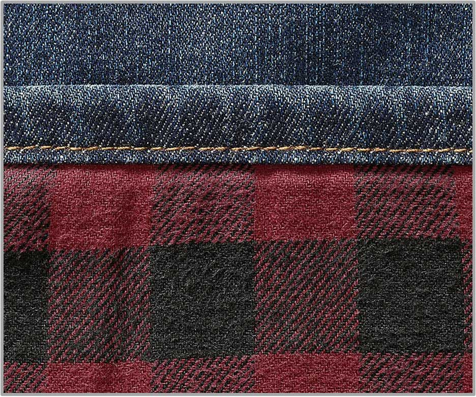 Eddie_Bauer Flannel-Lined_Flex Jeans _Straight Fit