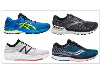 fast stability running shoes