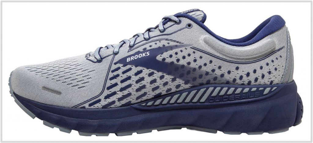 Upper of the Brooks Adrenaline GTS 21