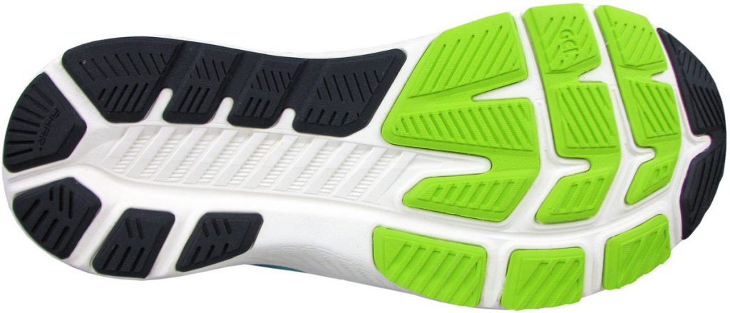 Outsole of the Asics Kayano Lite