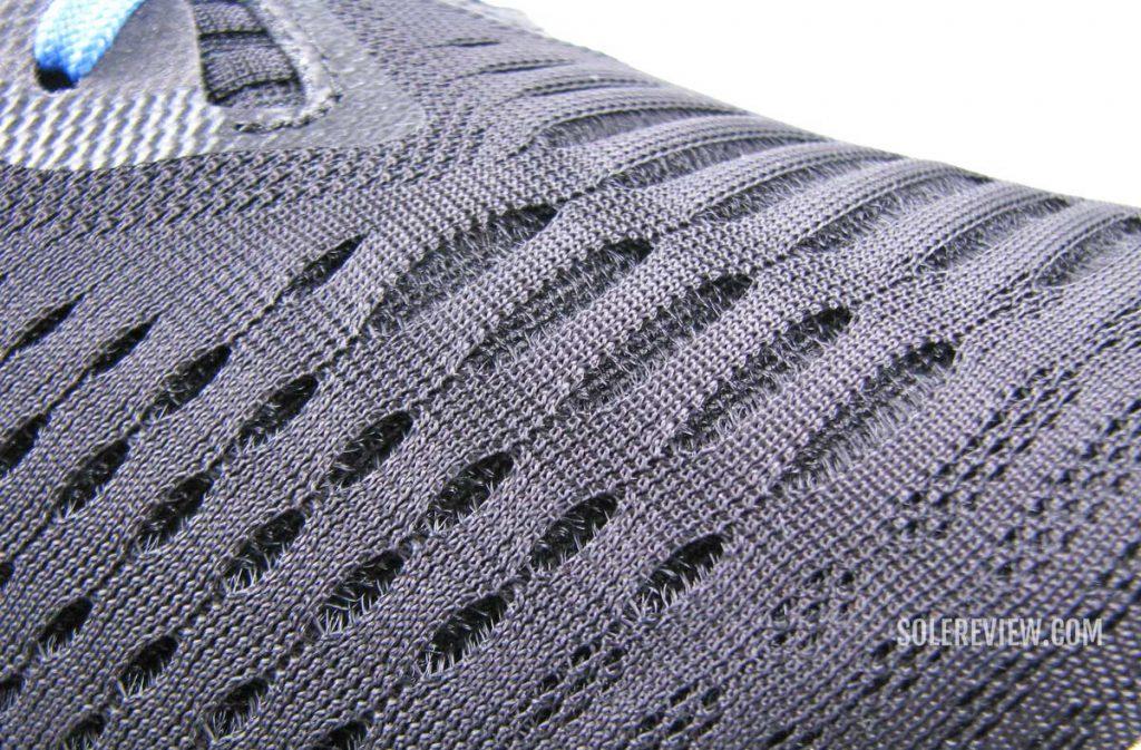 Engineered mesh on the Asics Novablast