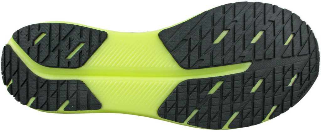 Outsole of the Brooks Hyperion Tempo