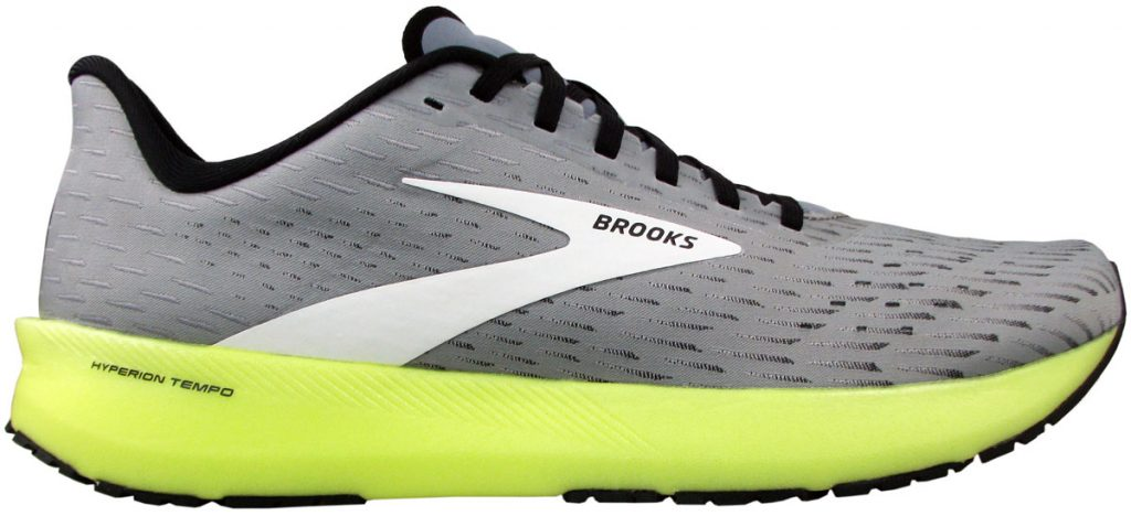 Side profile of the Brooks Hyperion Tempo