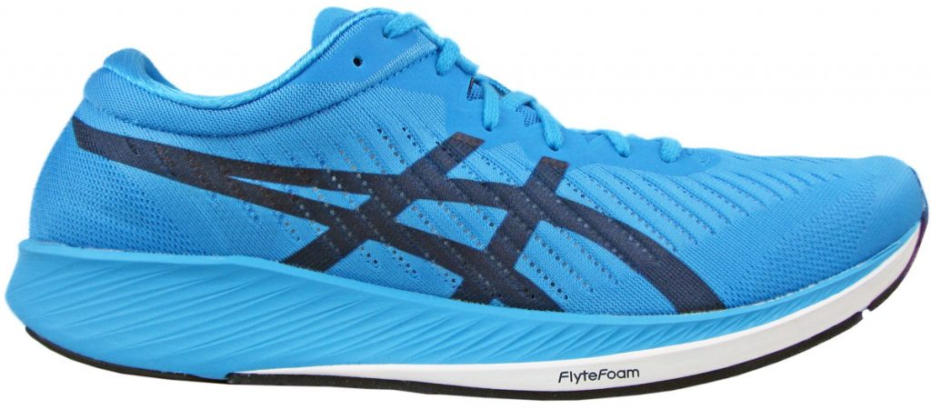 Side profile of the Asics Metaracer