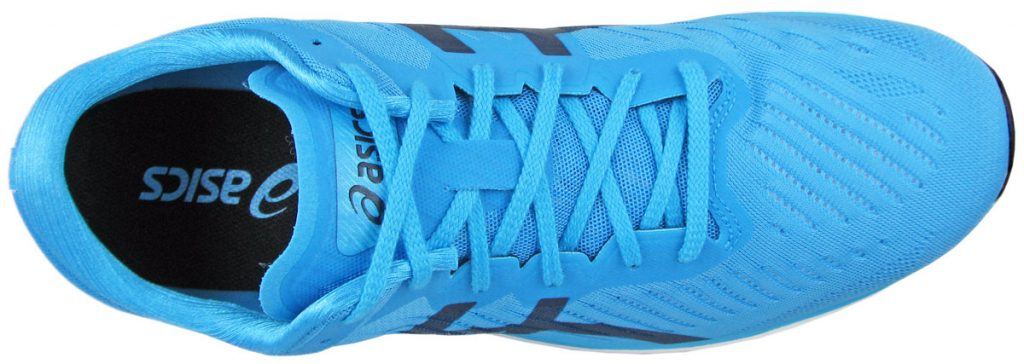 Top view of the Asics Metaracer