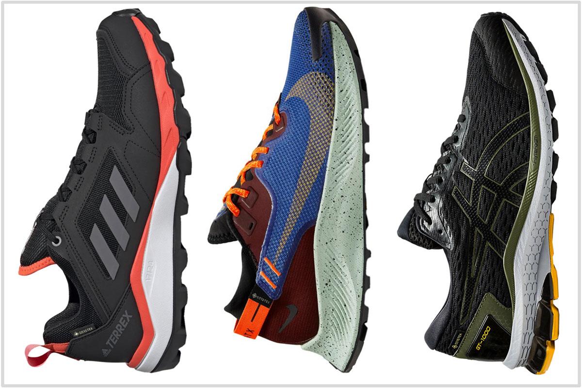 adidas waterproof running shoes