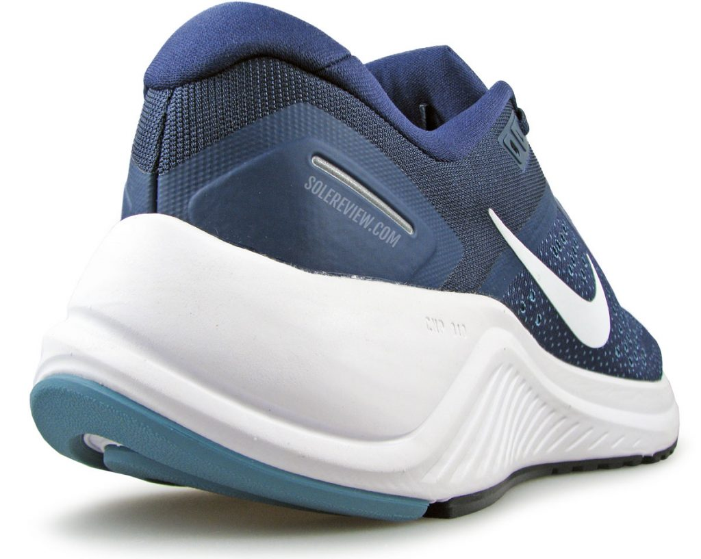 Heel bevel of the Nike Zoom Structure 23.