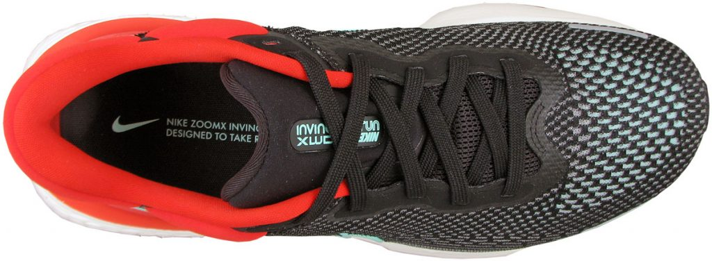 Nike ZoomX Invincible Run Flyknit top view