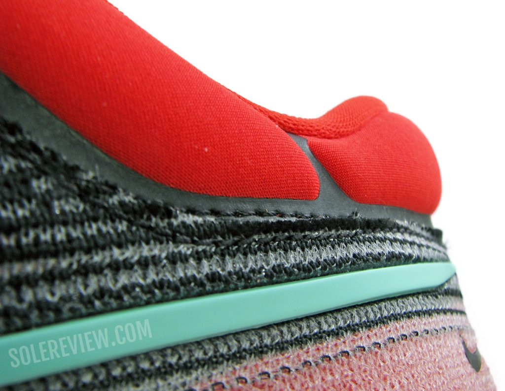 Nike ZoomX Invincible Run Flyknit heel collar