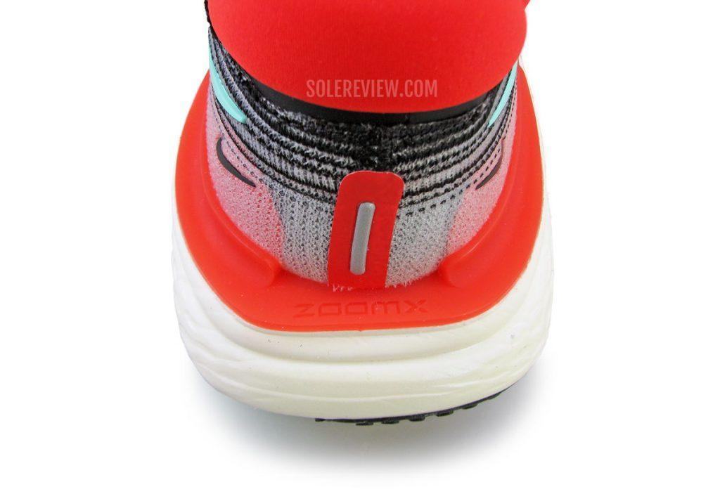 Nike ZoomX Invincible Run Flyknit plastic stabilizer
