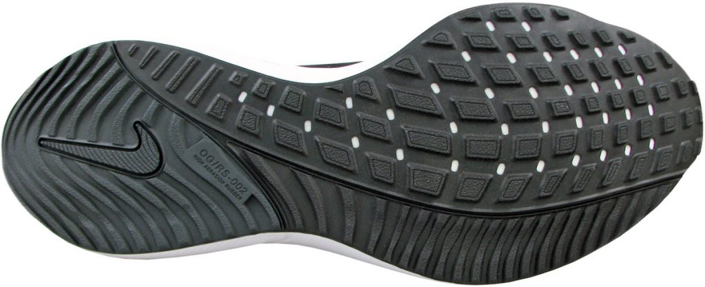 The outsole of the Nike Air Zoom Vomero 15.