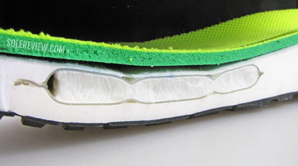 Nike Zoom Air cut open Vomero 15