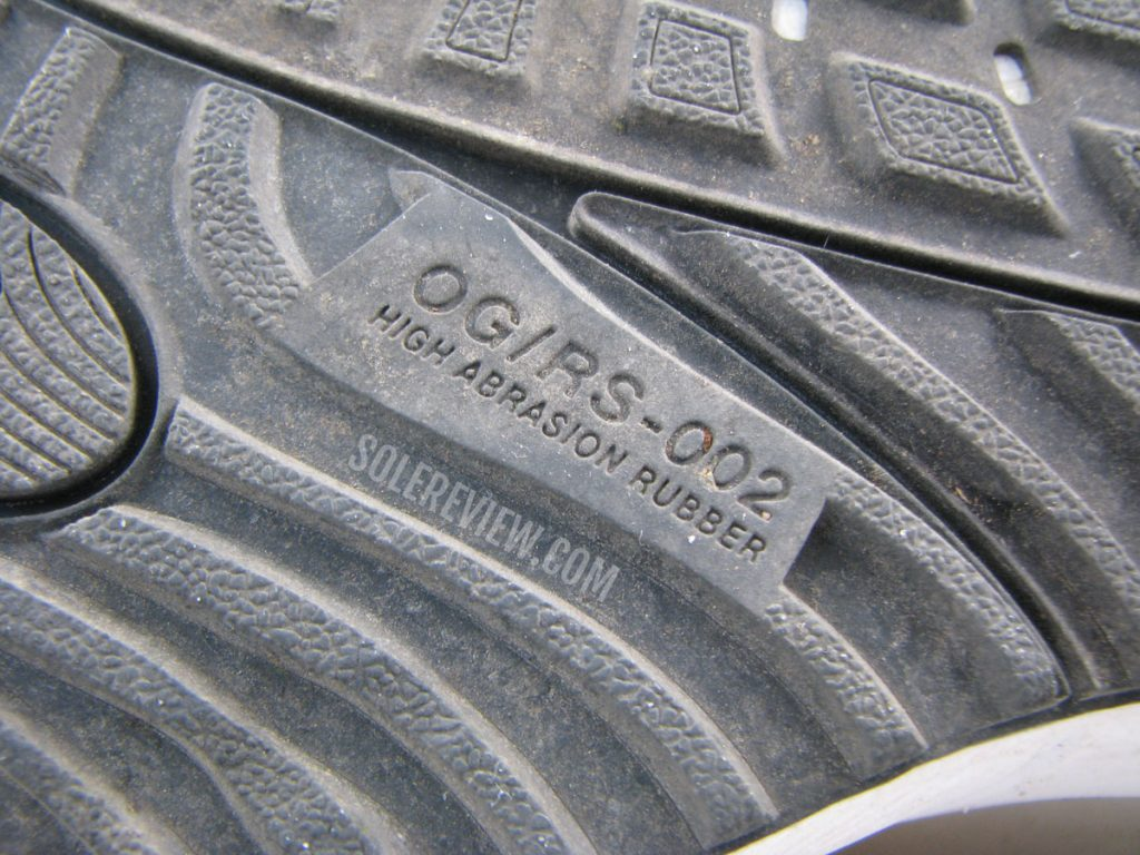 High abrasion rubber on the Nike Air Zoom Vomero 15.