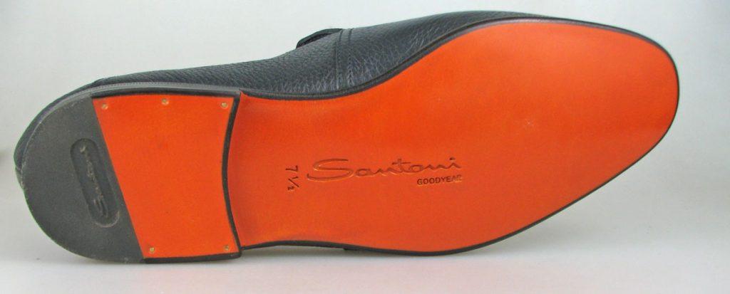 Santoni Goodyear Flex Leather Sole