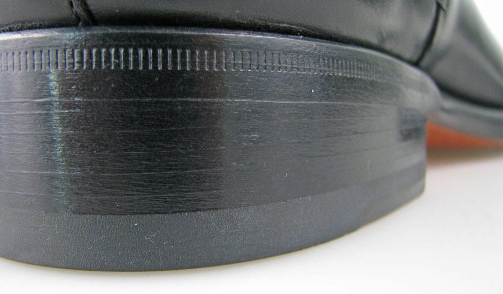 Santoni Leather Heel