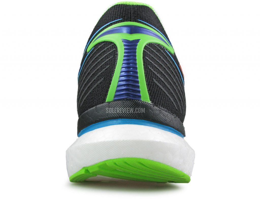 The heel stability of Saucony Endorphin Speed