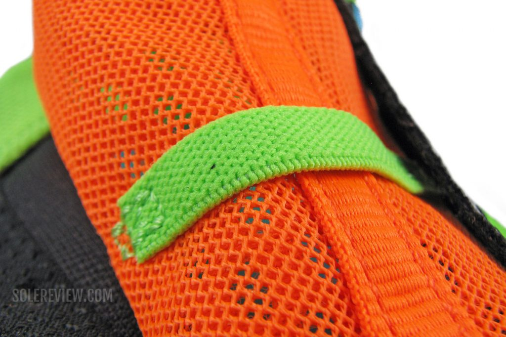 The tongue band on Saucony Endorphin Speed