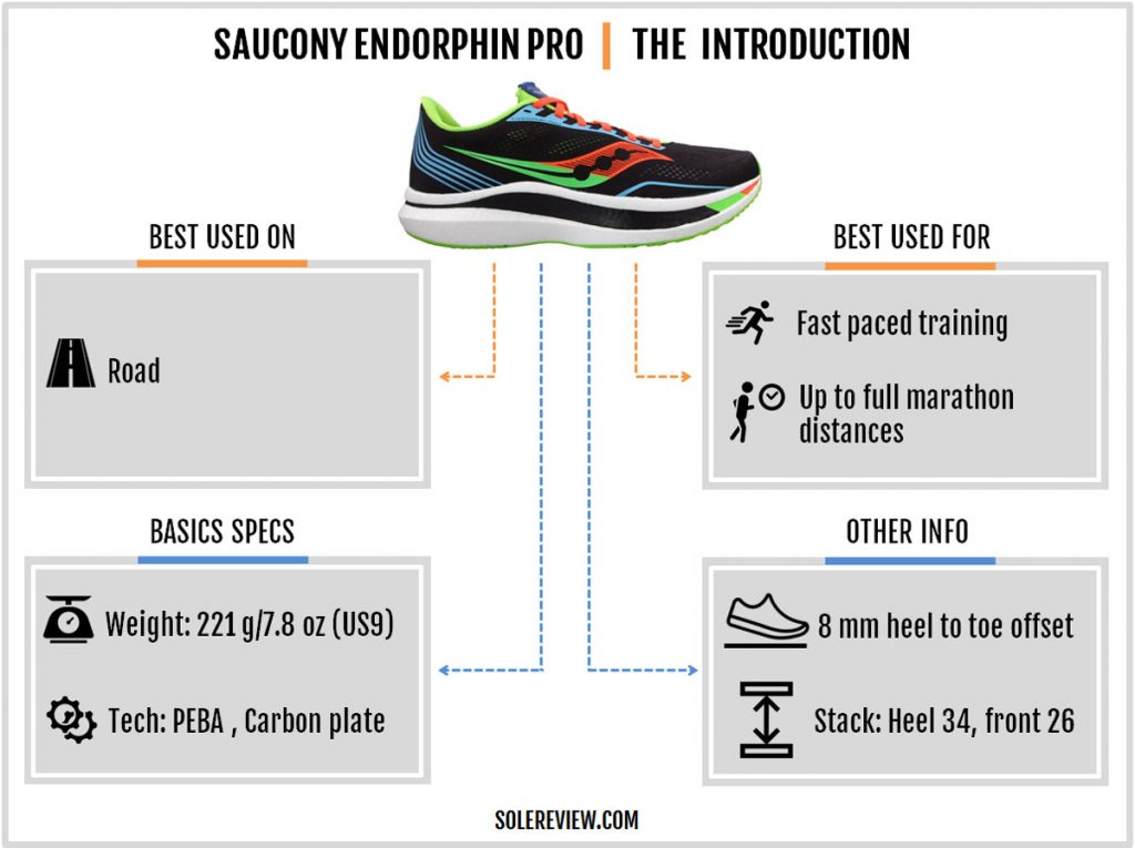 The basics of the Saucony Endorphin Pro