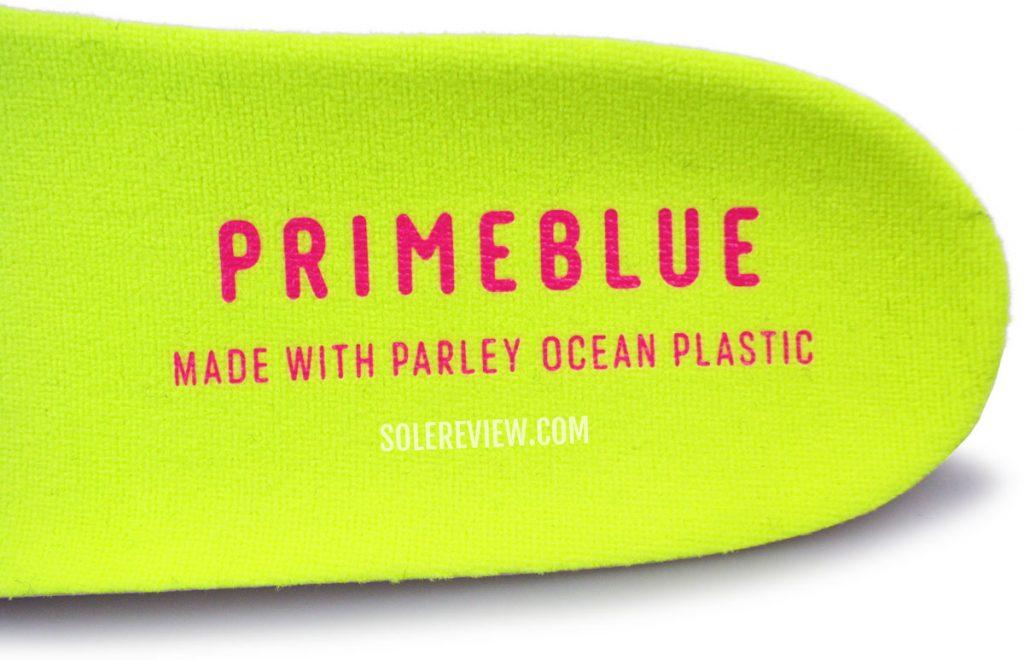 Parley Ocean plastic on the adidas Ultraboost 21
