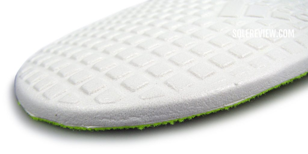 The insole of the adidas Ultraboost 21