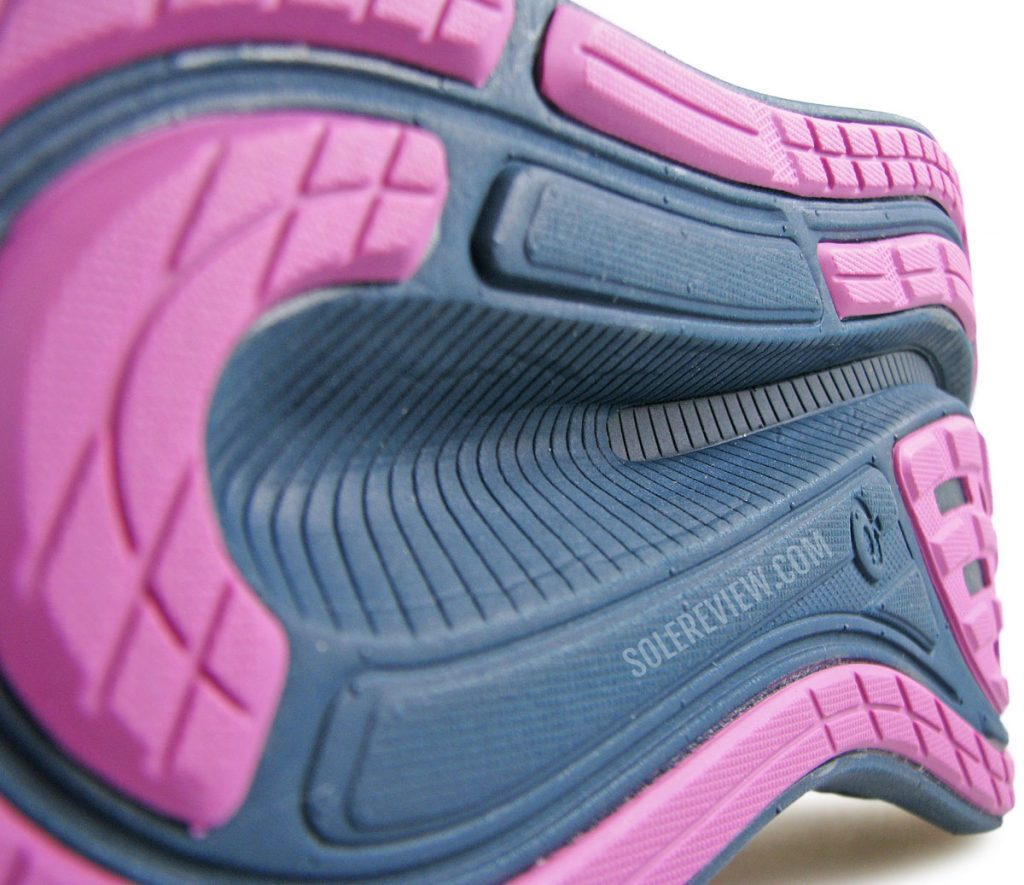 Asics Glideride 2 outsole groove