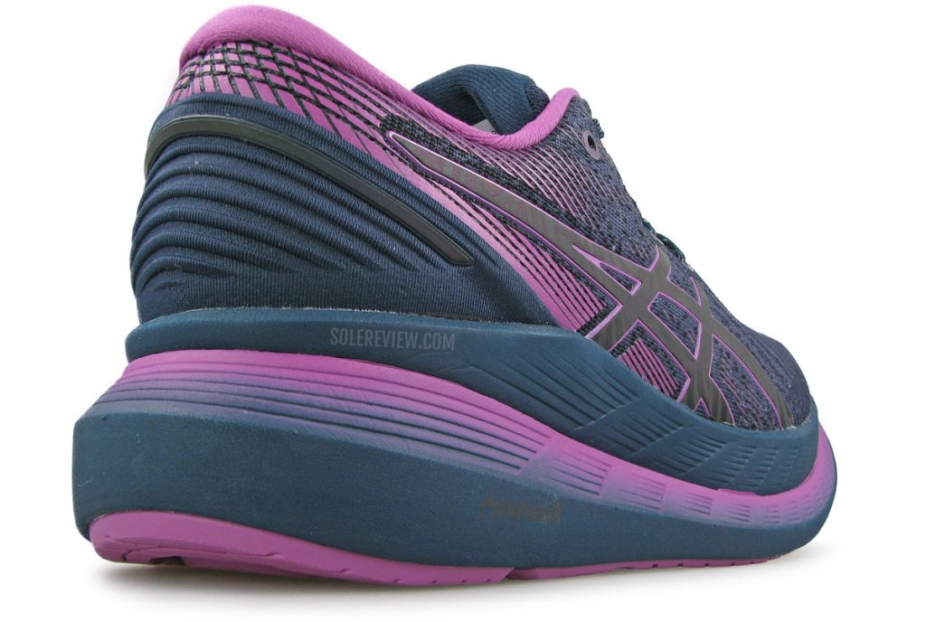 Asics Glideride 2 heel stability