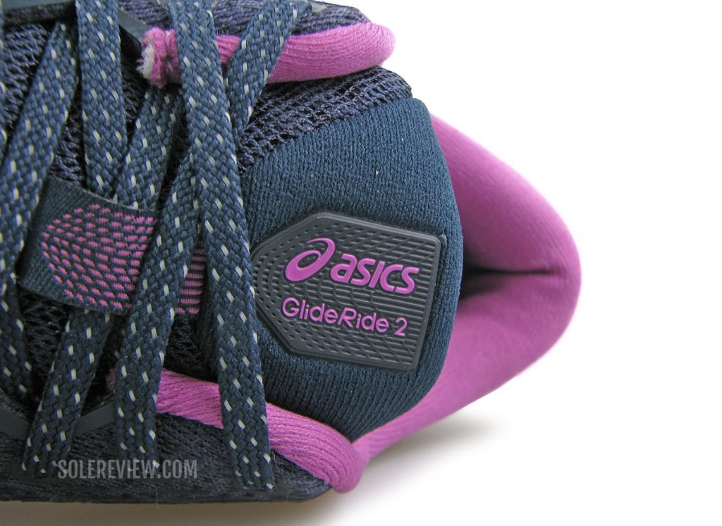Asics Glideride 2 lacing