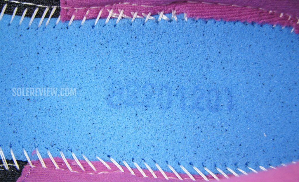 Asics Glideride 2 foam lasting